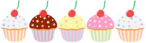 5 cupcaakes