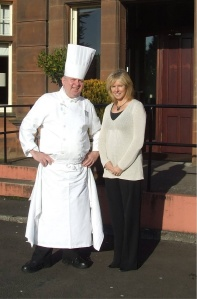 Janice and Chef Colin Masson