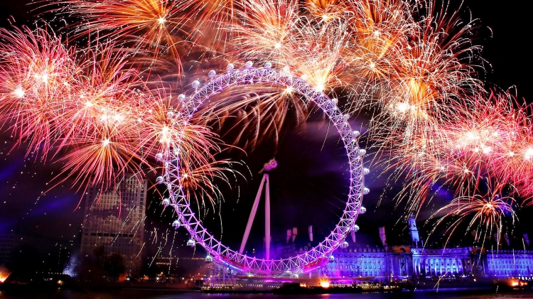New-Year-London-Fireworks-2014-Wallpaper