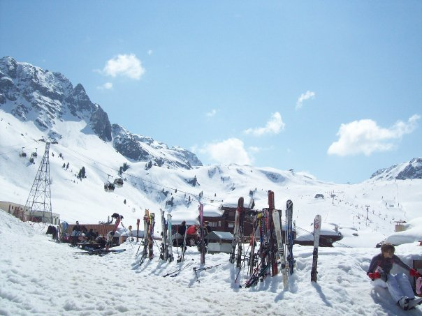 La Plagne: French Alps
