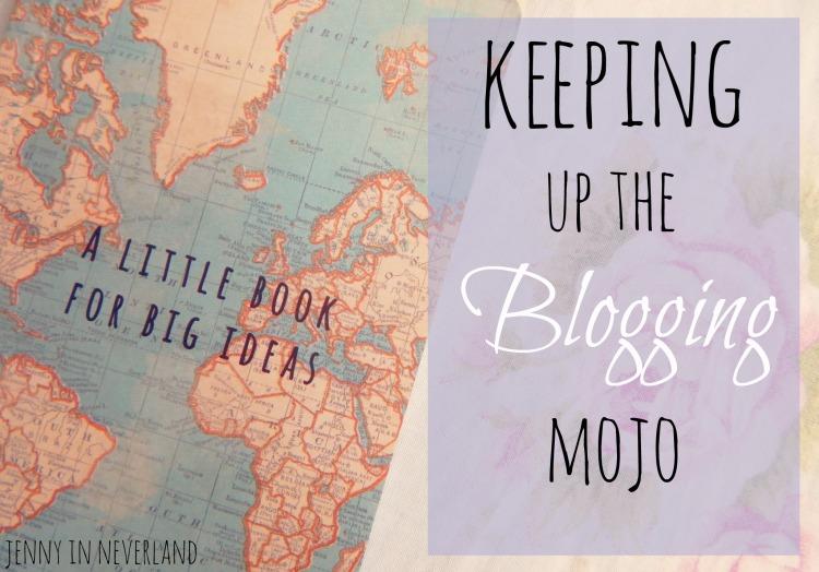 keeping up the blogging mojo