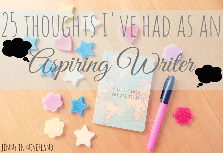 aspiring writer