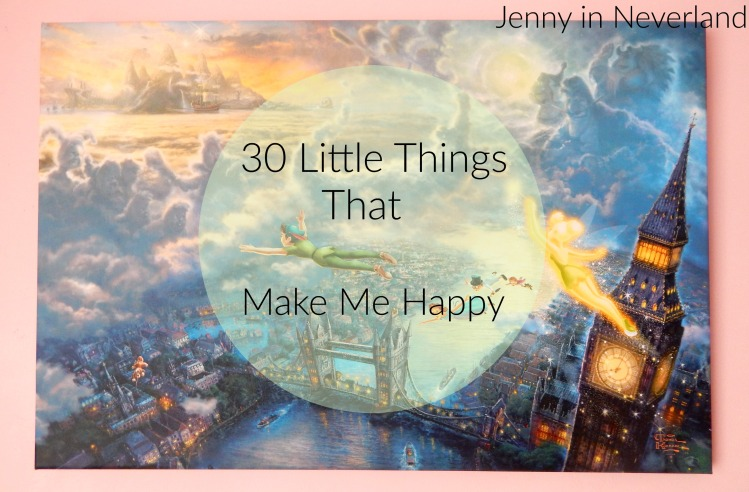 30 Little Things That Make Me Happy