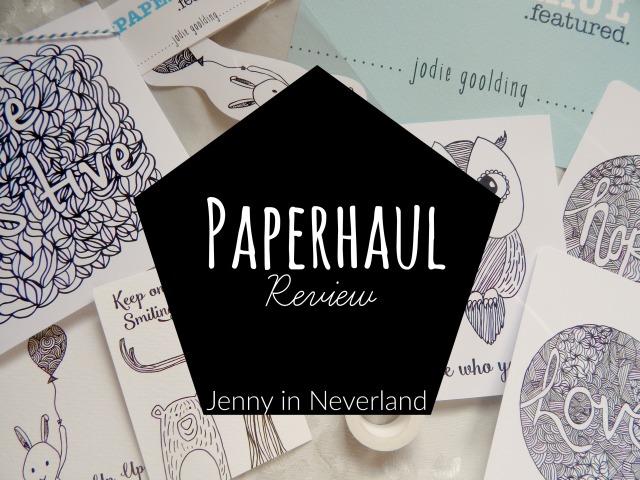 Paperhaul Review 1