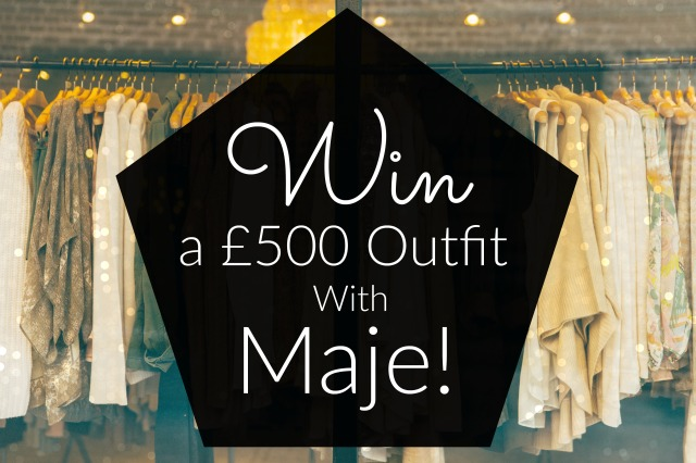 Win a £500 Outfit With Maje