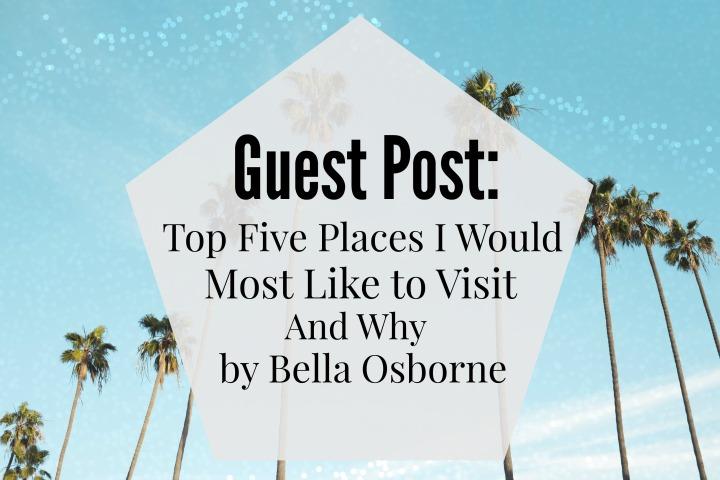 Guest Post Five Places
