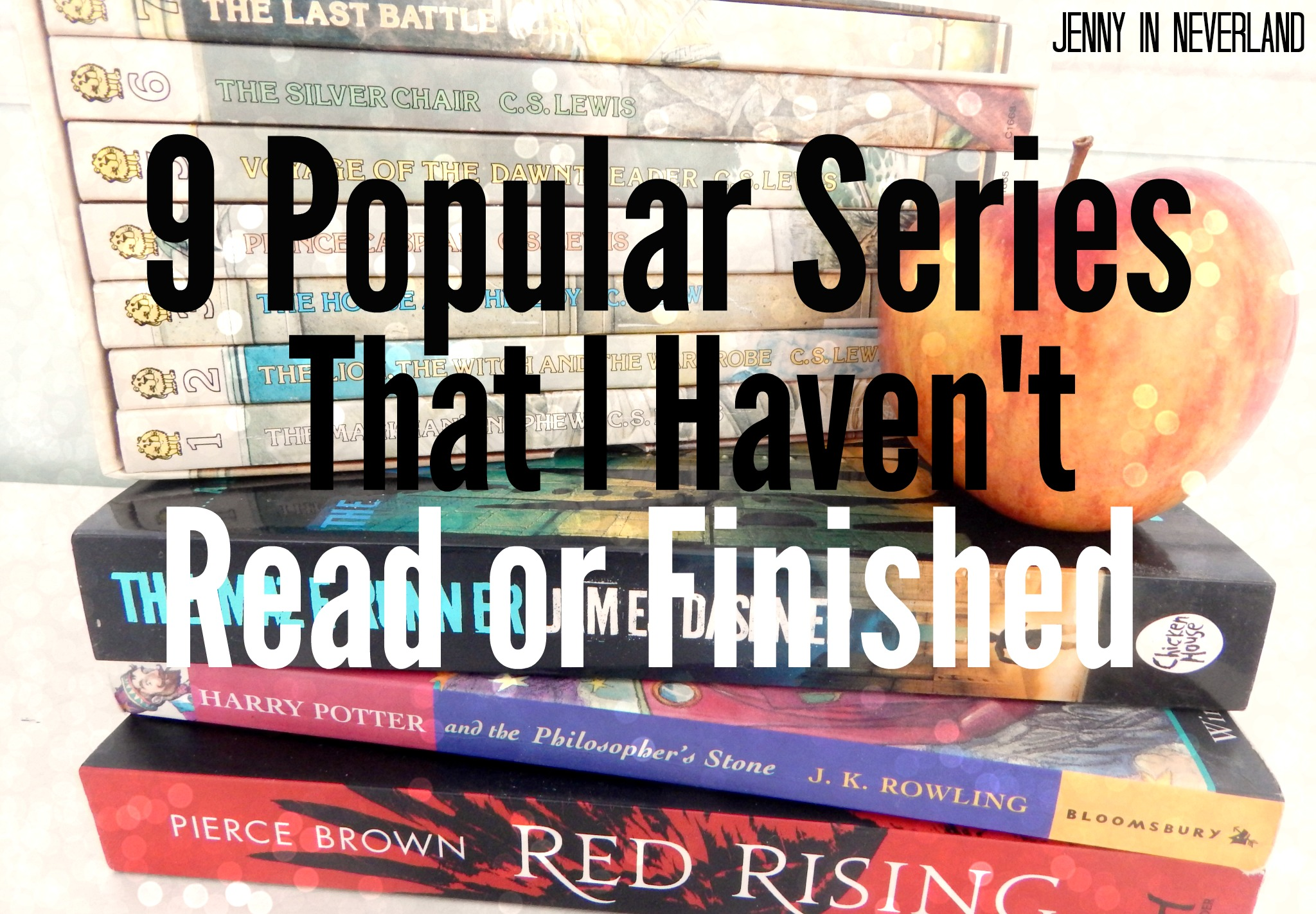9 Popular Book Series I Still Haven T Read Or Finished Jenny In