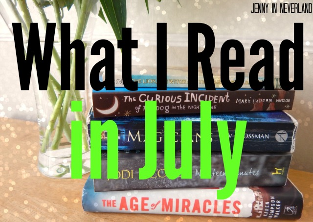 What I Read in July