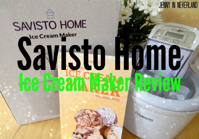 Savisto Home Ice Cream Maker Review