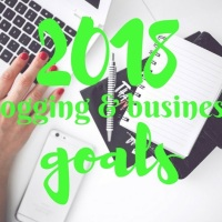 2018 blogging & business goals