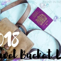 2018 travel bucket list *